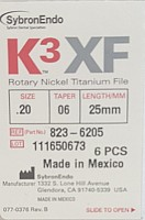Ace K3 XF .20/.06 25mm 6buc/cut 823-6205