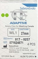 Ace TF Adaptive file ML1 27 mm 4 buc/cut 817-8257