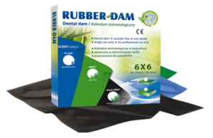 CK Rubber Dam negru medium