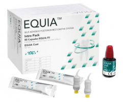 GC EQUIA Intro pack A2  50 cap/cut +coat