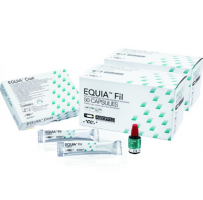 GC EQUIA Intro pack assorted 50 cap/cut+coat