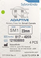 Ace TF Adaptive file SM1 23 mm 4 buc/cut 817-4203